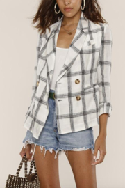 Heartloom Jax Blazer - Back cropped
