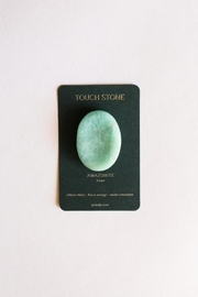 JaxKelly Amazonite Touch Stone - Front cropped