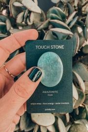JaxKelly Amazonite Touch Stone - Side cropped