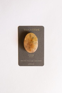 JaxKelly Citrine Touch Stone - Product List Image