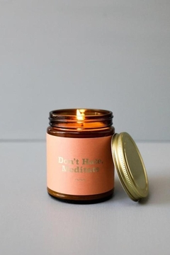 JaxKelly Mantra Candle - Don't Hate - Product List Image