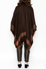 Jay Ley Collections Fox Fur Wrap - Back cropped