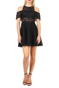 Jay Godfrey Lace Cold Shoulder Dress - Product List Image