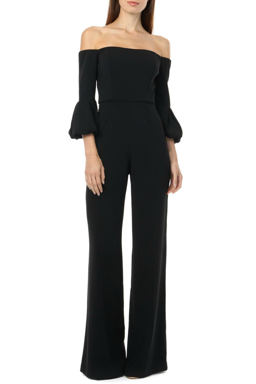 Jay Godfrey Off-The-Shoulder Jumpsuit - Main Image