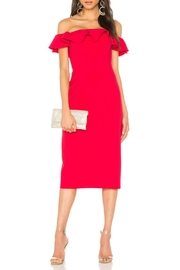 Jay Godfrey Red Ruffle Dress - Product Mini Image