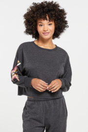 z supply Jayde Bolt Pullover - Product Mini Image