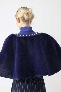 JayLey Faux Fur Cape - Alternate List Image