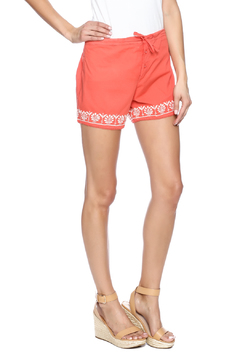 Shoptiques Product: Coral Embroidery Short