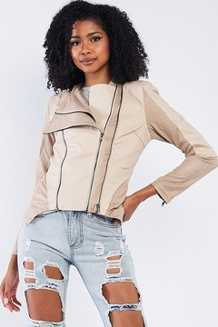Tasha Apparel Jazella Moto Jacket - Product List Image