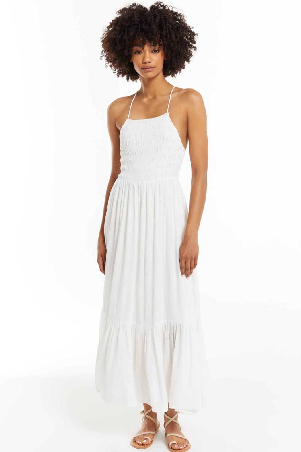 z supply Jazmin Maxi Dress - Front Cropped Image