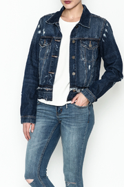 JBD Distressed Denim Jacket - Product Mini Image