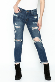 JBD Relaxed High Rise Jean - Product Mini Image