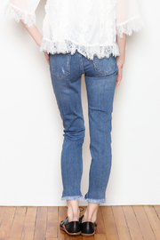 JBD Ripped Denim Jeans - Back cropped