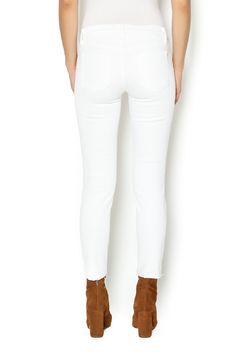Shoptiques Product: Destructed Cropped Skinny