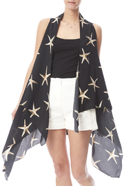JC Sunny Starfish Scarf Vest - Product Mini Image