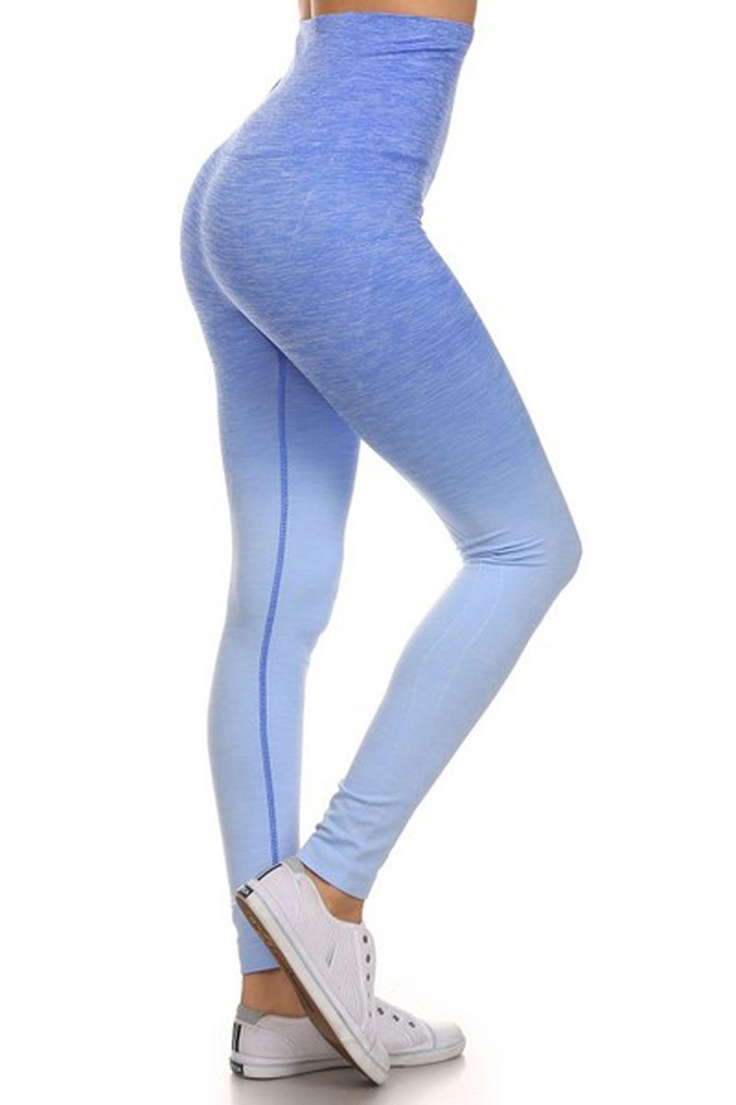 JChronicles Ombre Yoga Pants - Front Cropped Image