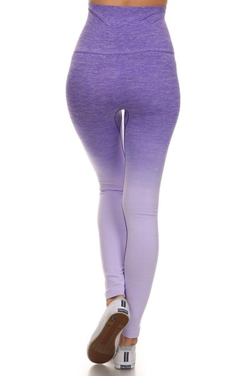 JChronicles Ombre Yoga Pants - Side Cropped Image