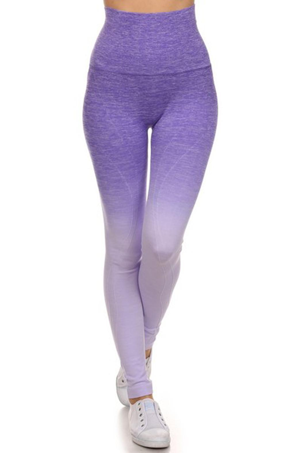 JChronicles Ombre Yoga Pants - Front Full Image