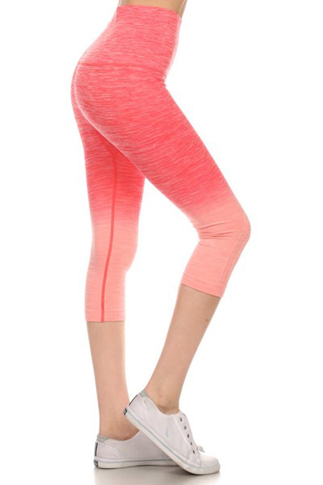 JChronicles Ombre Capri Legging - Front Cropped Image