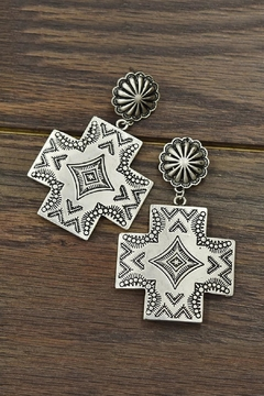 JChronicles Aztec Post Earrings - Product List Image