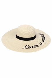 JChronicles Beach Floppy Hats - Product Mini Image