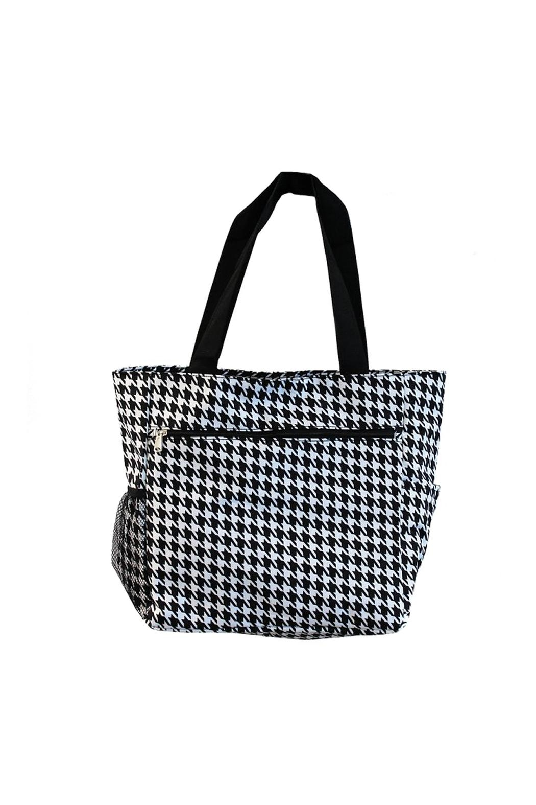 JChronicles Beach Tote Bags - Front Cropped Image