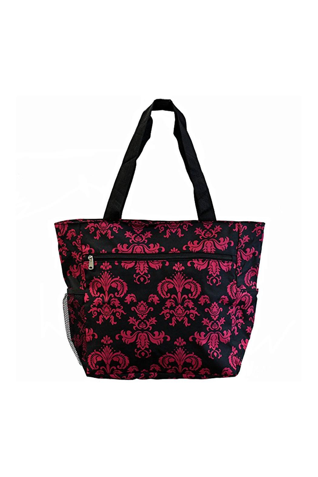 JChronicles Beach Tote Bags - Front Full Image