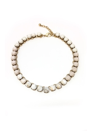 JChronicles Facet Stone Necklace - Front cropped