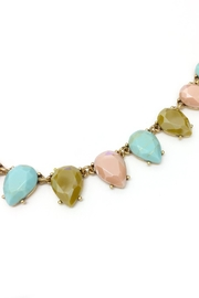 JChronicles Facet Stone Necklace - Front full body