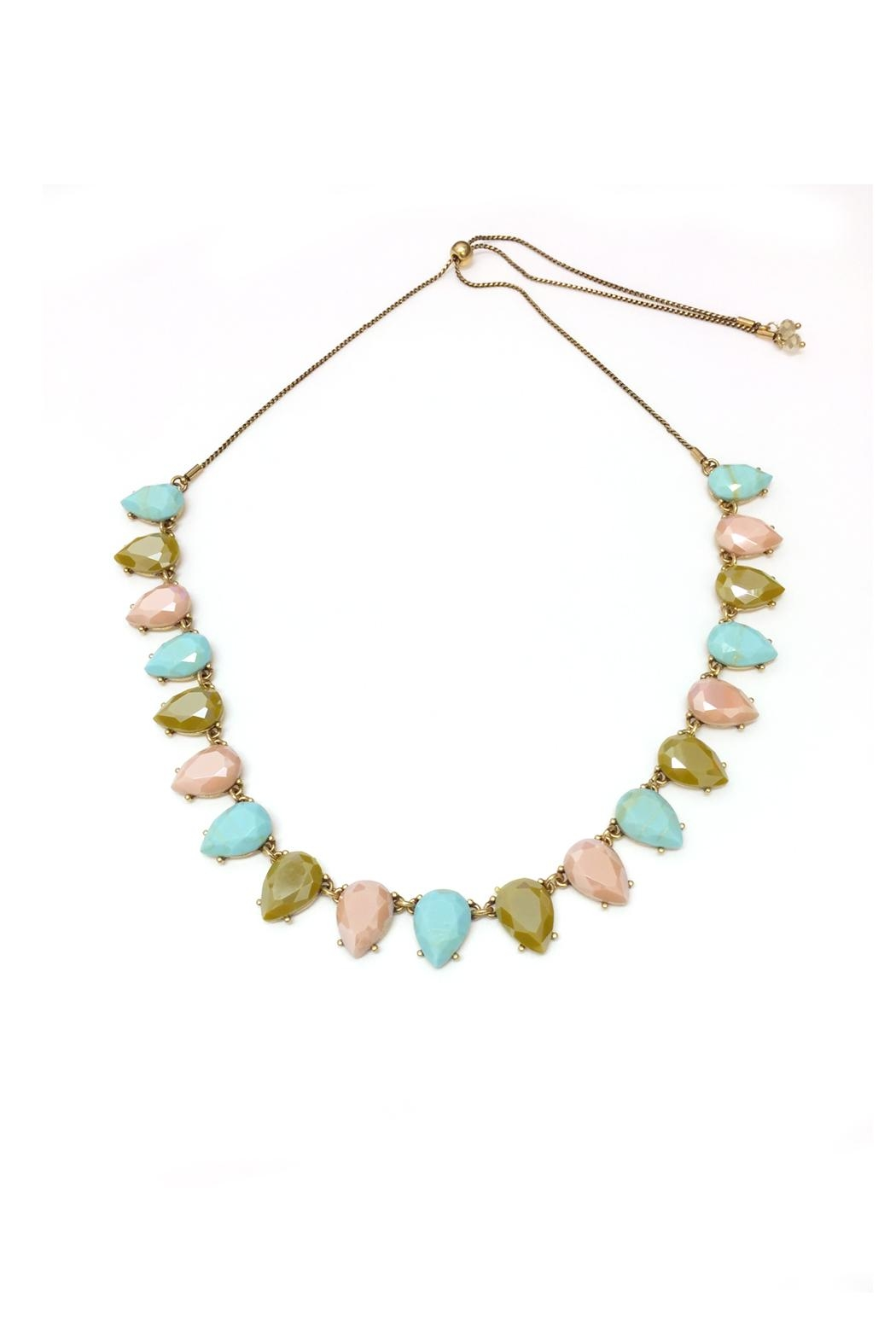 JChronicles Facet Stone Necklace - Side Cropped Image