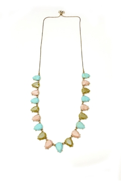 Shoptiques Product: Facet Stone Necklace
