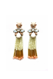 JChronicles Facet-Stone Tassel Earring - Product Mini Image