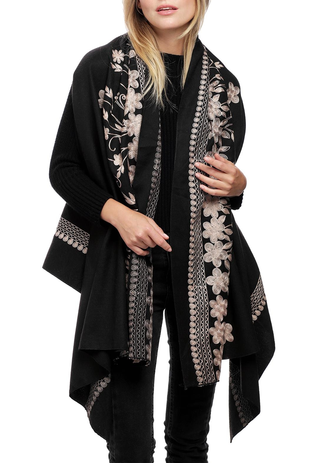 JChronicles Floral Embroidery Vest - Front Cropped Image