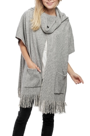 JChronicles Front-Pocket Knit Poncho - Front cropped