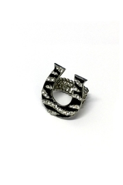 JChronicles Horse Shoe Stretch Ring - Front cropped