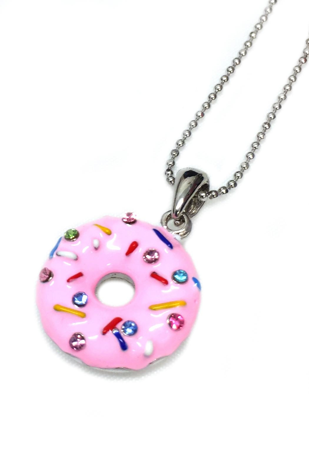 JChronicles I Love Donuts Necklace - Front Full Image