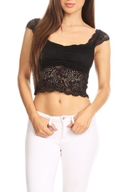 JChronicles Lace Crop Top - Product Mini Image