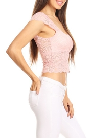 JChronicles Lace Crop Top - Side cropped