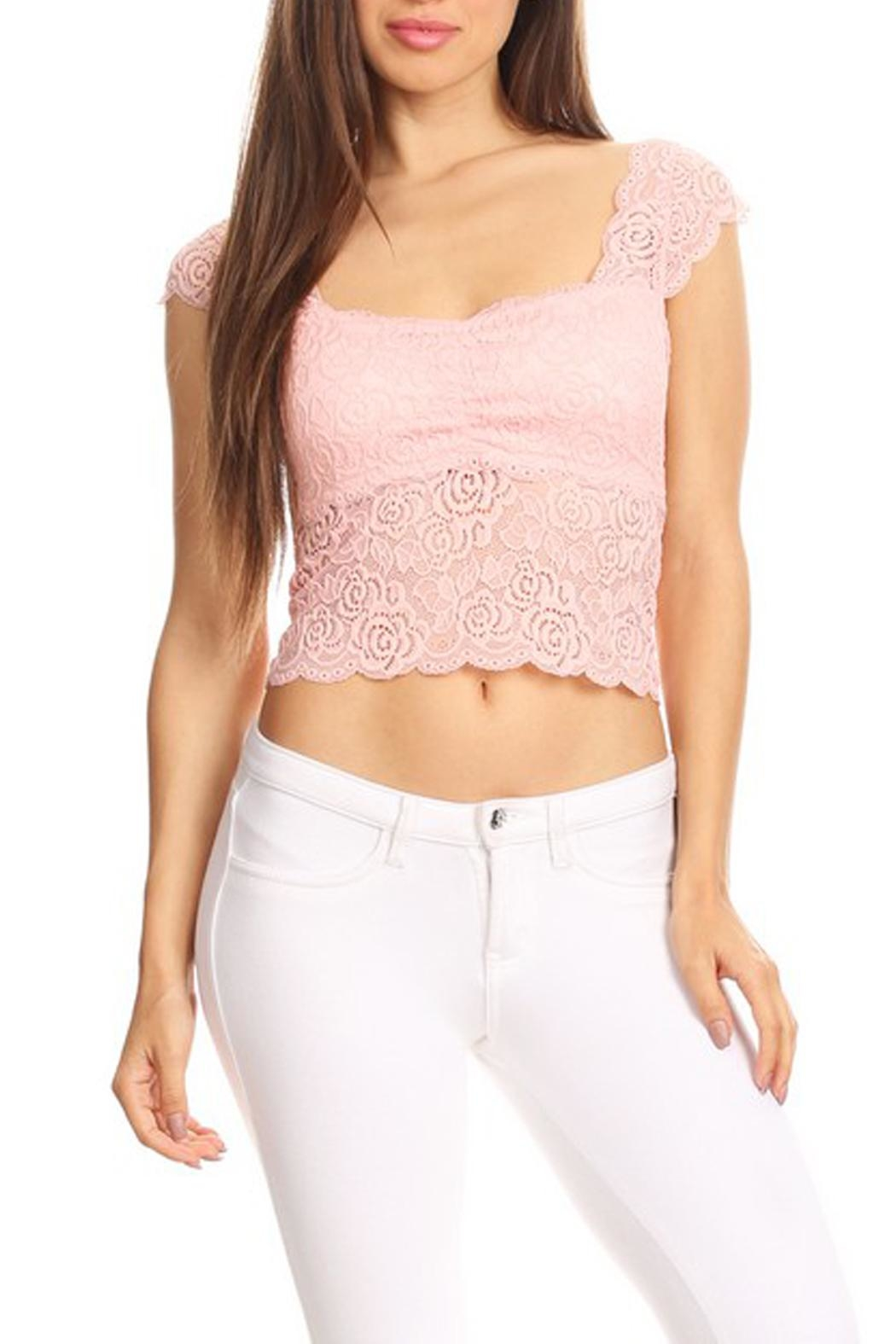 JChronicles Lace Crop Top - Main Image