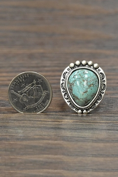JChronicles Natural Turquoise Adjustable Ring - Alternate List Image