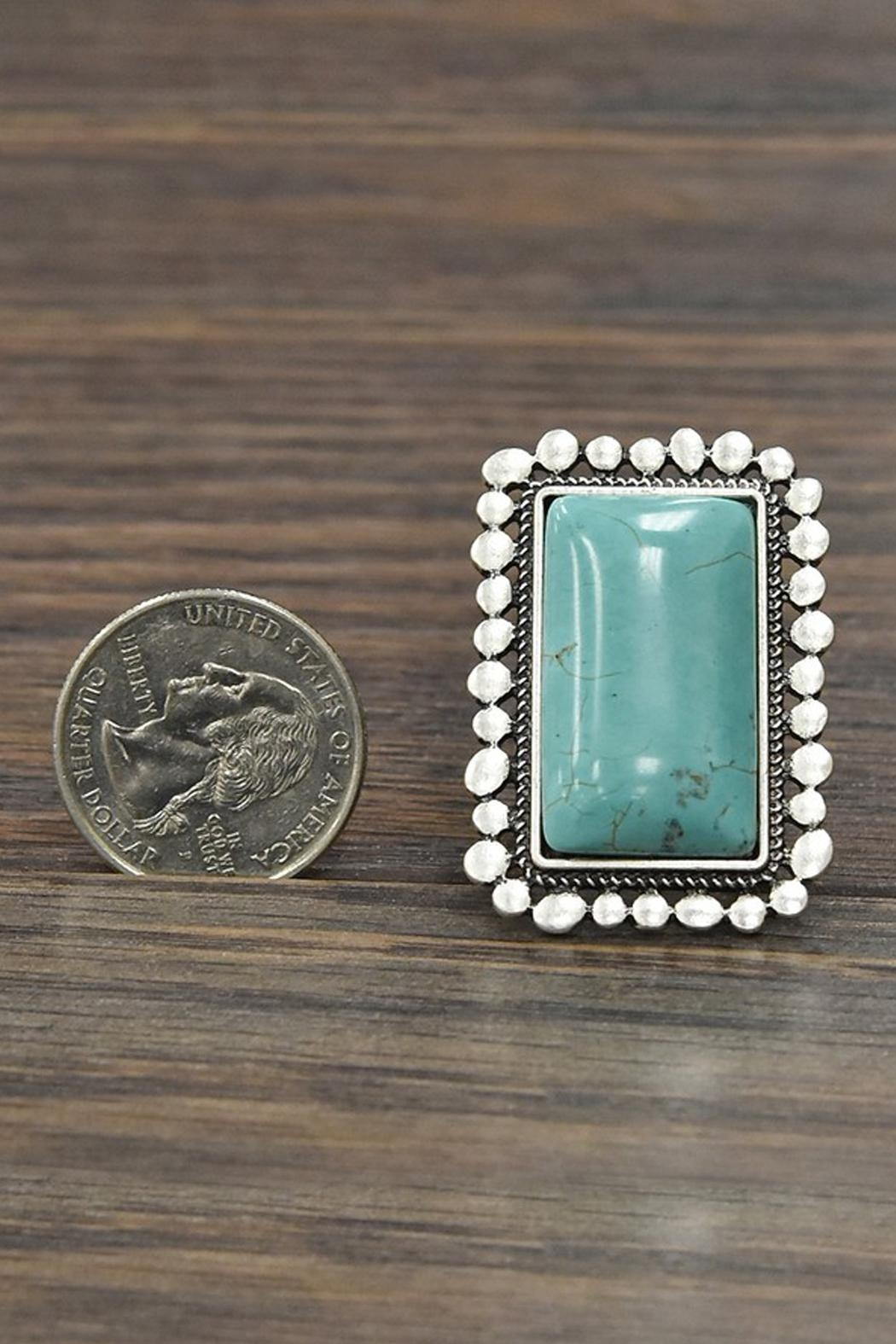 JChronicles Natural-Turquoise Adjustable-Ring - Side Cropped Image