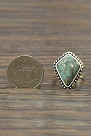 JChronicles Natural Turquoise Adjustable-Ring - Side cropped