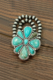 JChronicles Natural Turquoise Bracelet - Back cropped