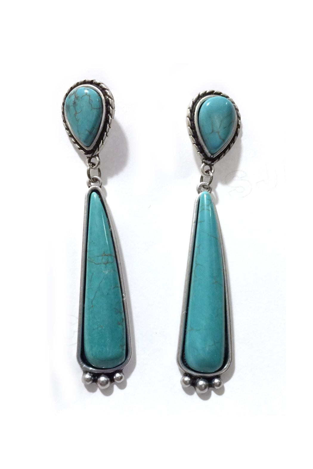 JChronicles Natural Turquoise Earring - Main Image
