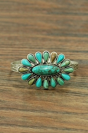 JChronicles Natural-Turquoise Navajo Cuff-Bracelet - Product Mini Image