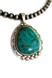 JChronicles Natural Turquoise Necklace - Front full body