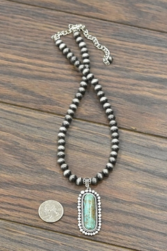 JChronicles Natural Turquoise Necklace - Alternate List Image