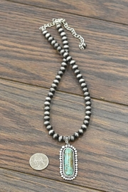 JChronicles Natural Turquoise Necklace - Side cropped