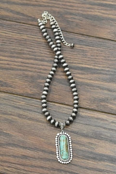 JChronicles Natural Turquoise Necklace - Product List Image