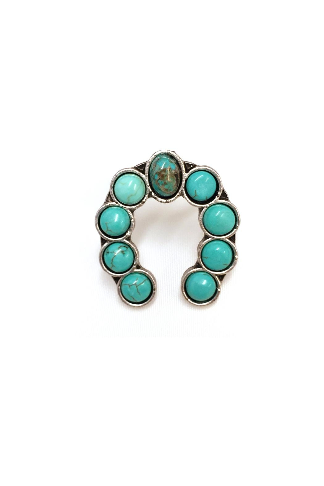 JChronicles Natural Turquoise Ring - Front Full Image